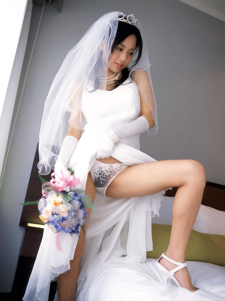 порно фото японок в свадебных платьях
